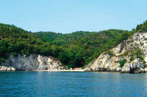 La spiaggia di Porto Greco